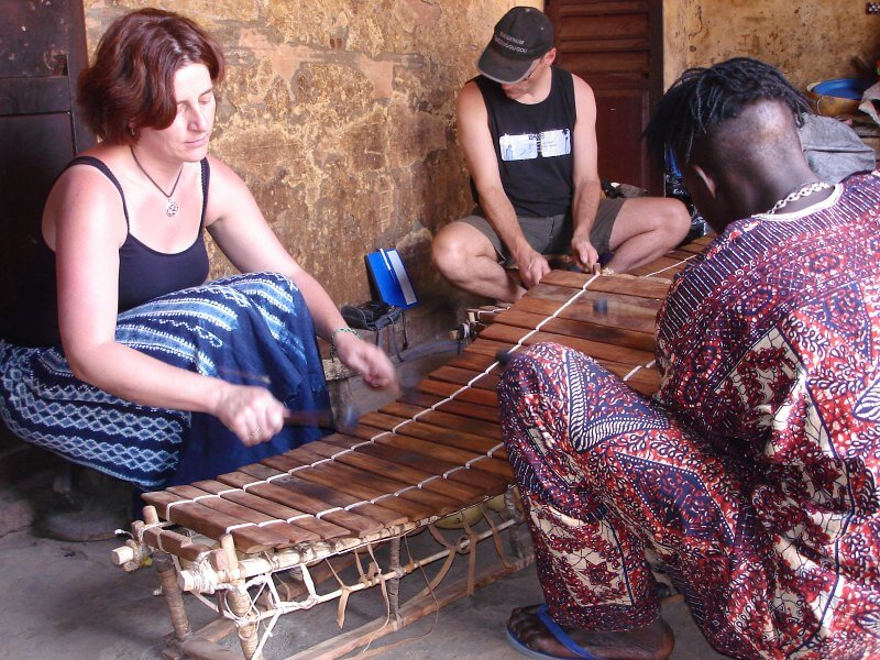 Balafoonles in Mali