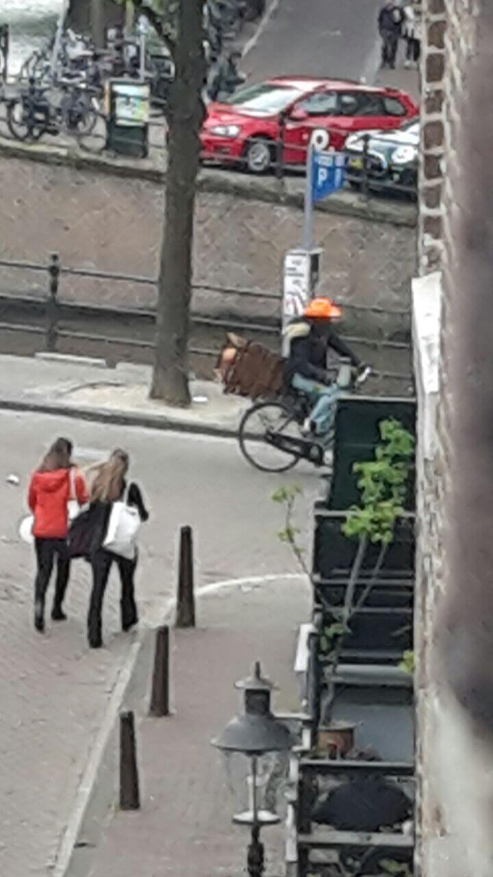 On the bikeat Koningsdag 2018